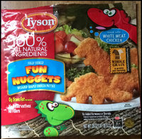 Tyson Fun Nuggets Breaded Shaped Chicken Patties uploaded by Bridgett B.