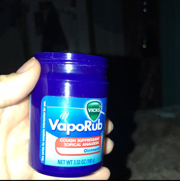 Photo of Vicks VapoRub Topical Ointment uploaded by Victoria G.