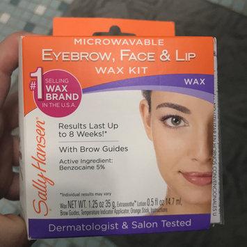 Photo of Sally Hansen® Microwavable Eyebrow, Face & Lip Wax Kit uploaded by Savannah M.