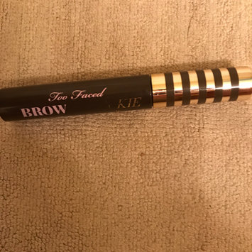 Too Faced Brow Quickie Brush on Brow Fiber Gel uploaded by Julie S.