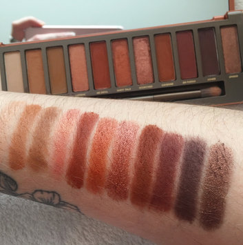 Urban Decay Naked Heat Eyeshadow Palette uploaded by Lucy E.
