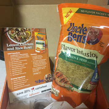 Photo of Uncle Ben's® Flavor Infusions Chicken & Herb uploaded by Sara H.