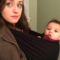Baby K'tan Baby K'Tan Wrap Baby Carrier - Black - Small uploaded by Andréa G.
