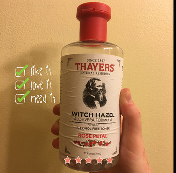 Thayers Alcohol-Free Rose Petal Witch Hazel Toner uploaded by Molly M.