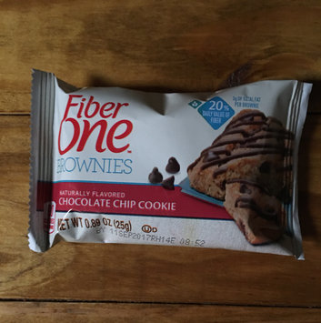 Fiber One 90 Calorie Chocolate Chip Cookie Brownies uploaded by Mk