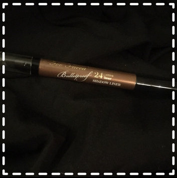 Photo of Too Faced Bulletproof 24 Hour Eyeliner uploaded by Allison J.