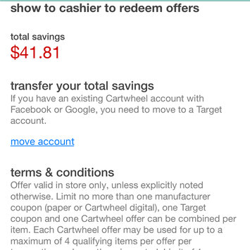 Photo of Cartwheel by Target uploaded by Margaret C.