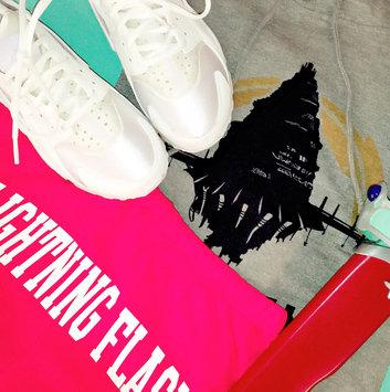 Photo of Nike Air Huarache 'Triple White' uploaded by Cyndi S.