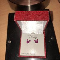 Disney's Mickey Mouse Crystal Birthstone Stud Earrings, Women's, Pink uploaded by Hannah H.
