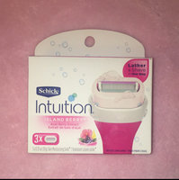 Schick Intuition Island Berry Razor Blade Refills - 3 ct uploaded by Miral T.