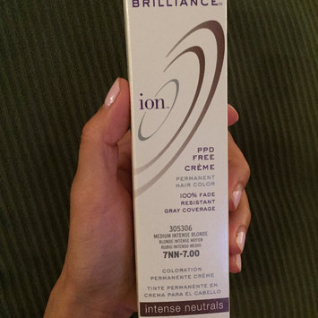 Photo of Ion Color Brilliance Permanent Creme Intense Neutrals 7NN Medium Intense Blonde uploaded by Aimeeh L.