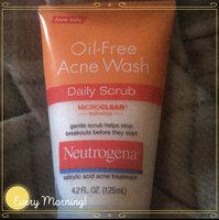Neutrogena® Oil-Free Acne Wash Daily Scrub uploaded by guess? W.