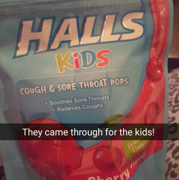Photo of HALLS Kids Cherry Pops uploaded by jenisha m.