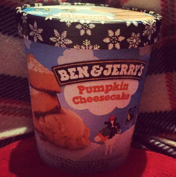 Photo of Ben & Jerry's® Pumpkin Cheesecake Ice Cream uploaded by Kirsty R.