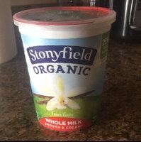 Stonyfield Organic™ Whole Milk French Vanilla Smooth & Creamy  Yogurt 32 oz. Tub uploaded by Amanda S.