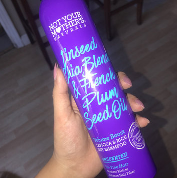 Photo of Not Your Mother's® Naturals Linseed Chia Blend & French Plum Seed Oil Volume Boost Tapioca & Rice Dry Shampoo uploaded by Celina M.