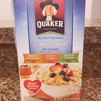 Quaker Instant Oatmeal Lower Sugar Variety Pack - 10 CT uploaded by Brittani O.