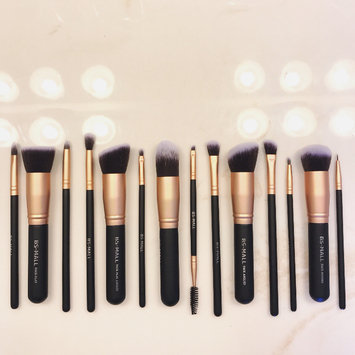 Photo of BS-MALL(TM) Premium Synthetic Kabuki Makeup Brush Set Cosmetics Foundation Blending Blush Eyeliner Face Powder Brush Makeup Brush Kit uploaded by Kara K.