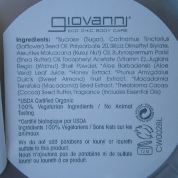 Giovanni Hair Products 42688 Hot Chocolate Sugar Scrub uploaded by Yulia K.