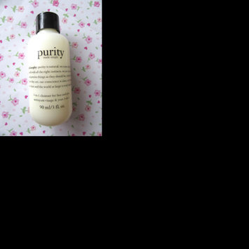 philosophy purity made simple one-step facial cleanser uploaded by Carys L.