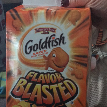 Photo of Goldfish® Flavor Blasted Xtra Cheddar Baked Snack Crackers uploaded by Lindsey H.