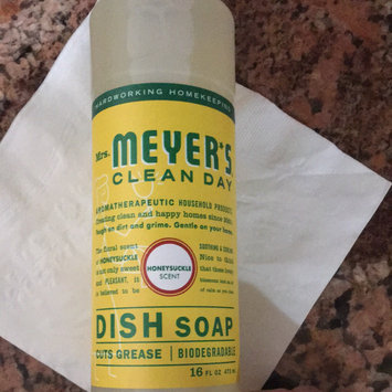 Mrs. Meyer's Clean Day Liquid Dish Soap Honeysuckle uploaded by Christina L.