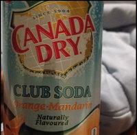 Canada Dry Mandarin Orange Sparkling Seltzer Water uploaded by Simone H.