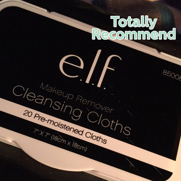 e.l.f. Studio Makeup Remover Cleansing Cloths uploaded by Wendy C.