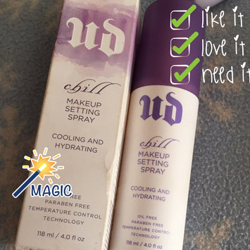 Urban Decay Chill Cooling and Hydrating Makeup Setting Spray uploaded by Wendy C.