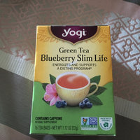 Yogi Tea Green Tea Blueberry Slim Life uploaded by Rockea J.