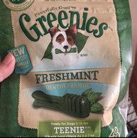 Greenies® Freshmint Teenie® Dog Treats 12 oz. Bag uploaded by Shelby ✋.