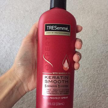 Photo of TRESemmé Keratin Smooth Heat Protection Spray uploaded by Aimeeh L.