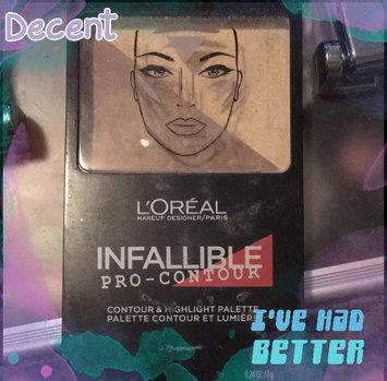 Photo of L'Oréal Paris Infallible Pro Contour Palette Light/Clair 0.24 oz. Compact uploaded by Hazel S.