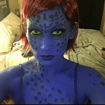 Photo of Mehron Paradise DARK BLUE - Face and Body Paint Pro Size 1.4 oz uploaded by Andrea V.