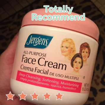 Photo of JERGENS® All Purpose Face Cream uploaded by Wendy C.