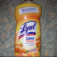 Lysol Complete Clean Multi-Surface Cleaner Orange Breeze uploaded by Jill R.