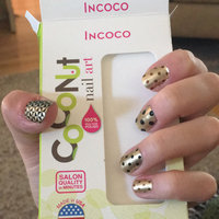 Coconut Nail Art by Incoco Nail Polish Strips, Fashion Statement, 12 count uploaded by Ainsley K.