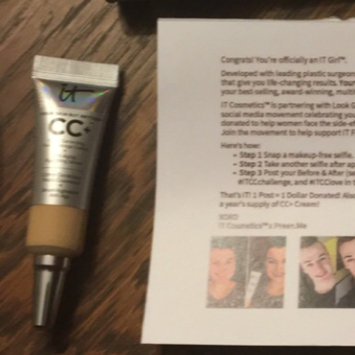 IT Cosmetics Your Skin But Better CC Cream with SPF 50+ uploaded by Mallory C.