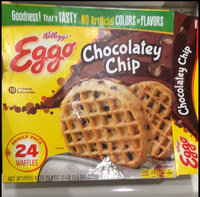Kellogg's Eggo Chocolatey Chip Waffles uploaded by Ruzzy G.