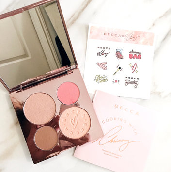Photo of BECCA x Chrissy Teigen Glow Face Palette uploaded by Jessica M.