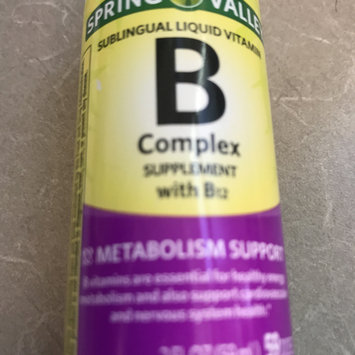 Photo of Spring Valley Dietary Supplement B Complex Sublingual Liquid uploaded by Marjorie S.
