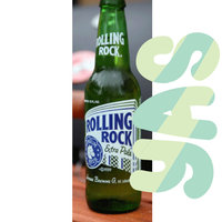 Rolling Rock Extra Pale Beer uploaded by Liz H.