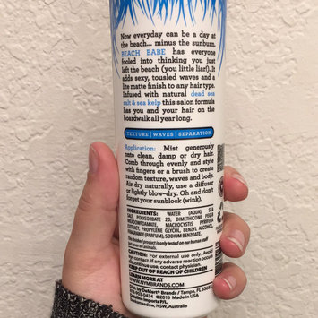 Photo of Not Your Mother's® Beach Babe® Texturizing Sea Salt Spray uploaded by Breanna V.