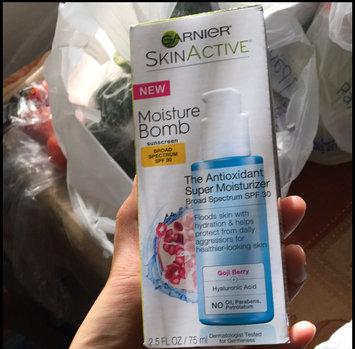 Photo uploaded to Garnier Skinactive Moisture Bomb The Antioxidant  Spf 30 Super Moisturizer by Karen J.