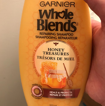 Photo of Garnier Whole Blends™ Honey Treasures Repairing Shampoo uploaded by Stephanie B.