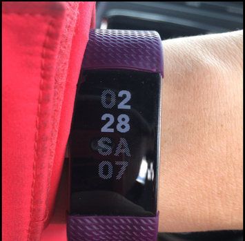 Photo of Fitbit Charge 2 - Plum, Small by Fitbit uploaded by Paula L.