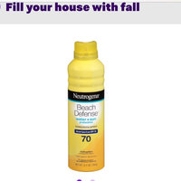 Neutrogena® Beach Defense® Water + Sun Protection Sunscreen Spray Broad Spectrum SPF 70 uploaded by Lizzie W.