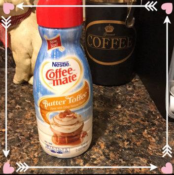 Photo of Nestle Coffeemate Butter Toffee Liquid Coffee Creamer 32 fl oz Bottle uploaded by Myshella D.