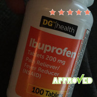 DG Health Ibuprofen Coated Tablets - 100 ct uploaded by Wendy C.