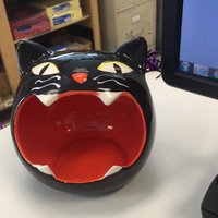 Halloween Cat Candy Bowl uploaded by Dulce A.